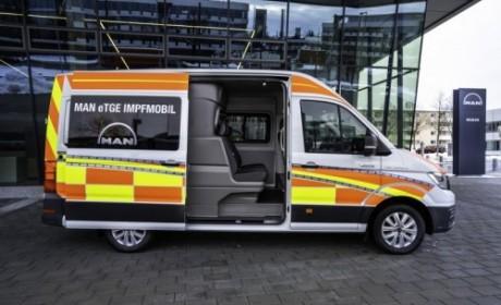 曼恩商用车研发创新车型助力疫苗接种计划