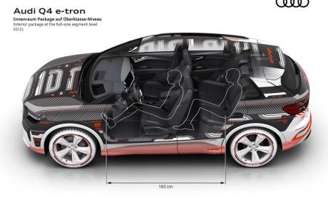 奥迪Q4 e-tron为汽车内饰与操作体验树立新标杆