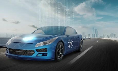 """2021上海车展:采埃孚全球首发车载超级计算机 """"采睿星""""(ProAI)"""
