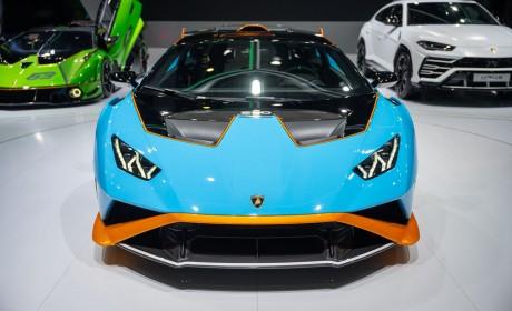 2021上海车展:兰博基尼携三款首发车型亮相