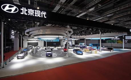 2021上海车展:现代汽车IONIQ(艾尼氪)5实车首秀 中国战略持续落地