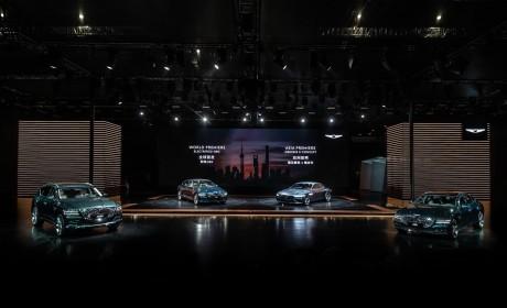 2021上海车展:捷尼赛思首次亮相 G80/GV80开启预售