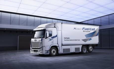 现代汽车氢燃料电池重卡XCIENT设计与性能再升级 加速全球推广